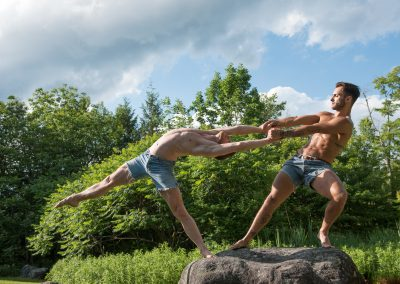 Kody Jauron and Franco Nieto, Northwest Dance Project