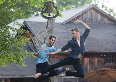 Francisco Graciano and Michael Novak of Paul Taylor Dance Company