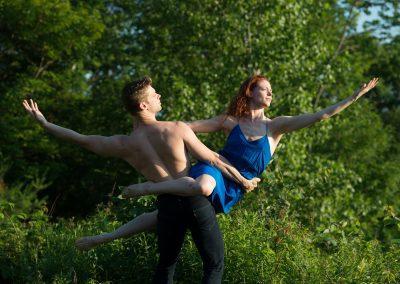 Michael Novak and Heather McGinley of Paul Taylor Dance Company