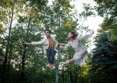 Francisco Graciano and Laura Halzack of Paul Taylor Dance Company