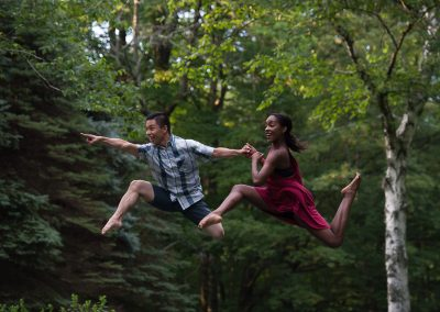 Jaryd Farcon and Ashley Simpson, Photograph by Christopher Duggan
